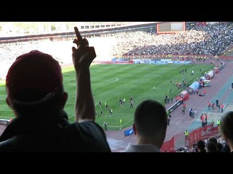 The worlds most dangerous derby Red Star Belgrade vs. Partizan
