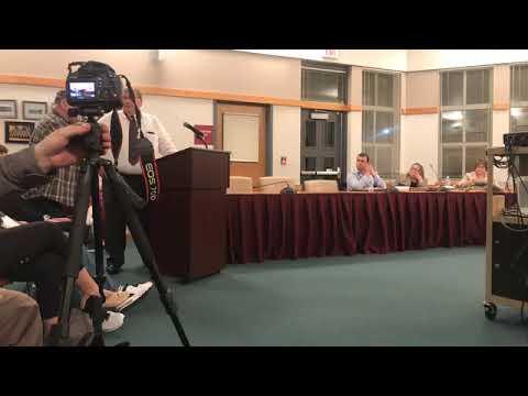 School board member reprimand