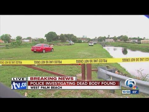 Dead body found near school in West Palm Beach