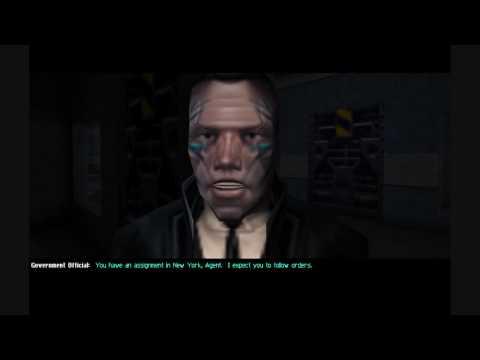 (HD)Fema camps / Rex 84 in deus ex video game.