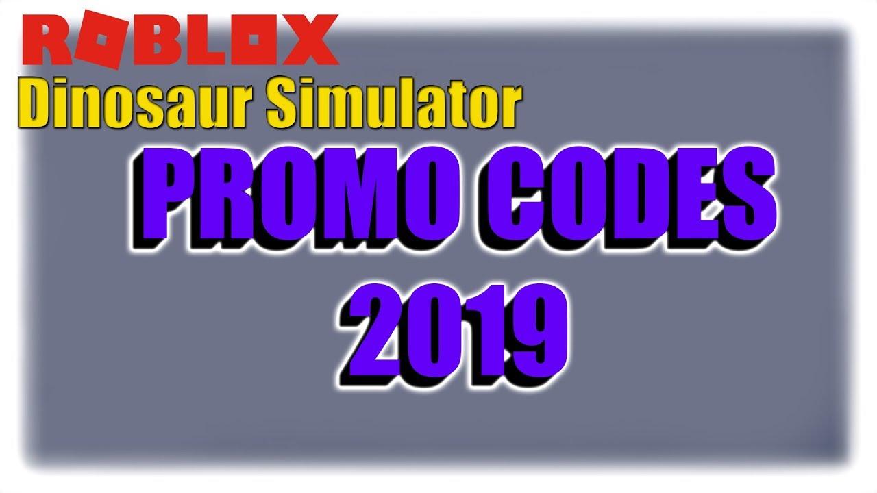 dinosaur simulator roblox codes 2019