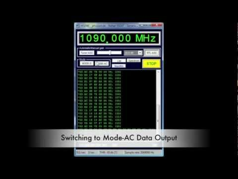 RTL1090 ADS-B Decoder for Windows Demo