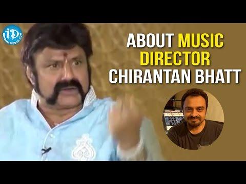 Balakrishna About Music Director Chirantan Bhatt    Gautamiputra Satakarni Interview    Hema Malini