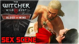 WITCHER 3 Blood and Wine ► Syanna Sex Scene (Best Moments Series)