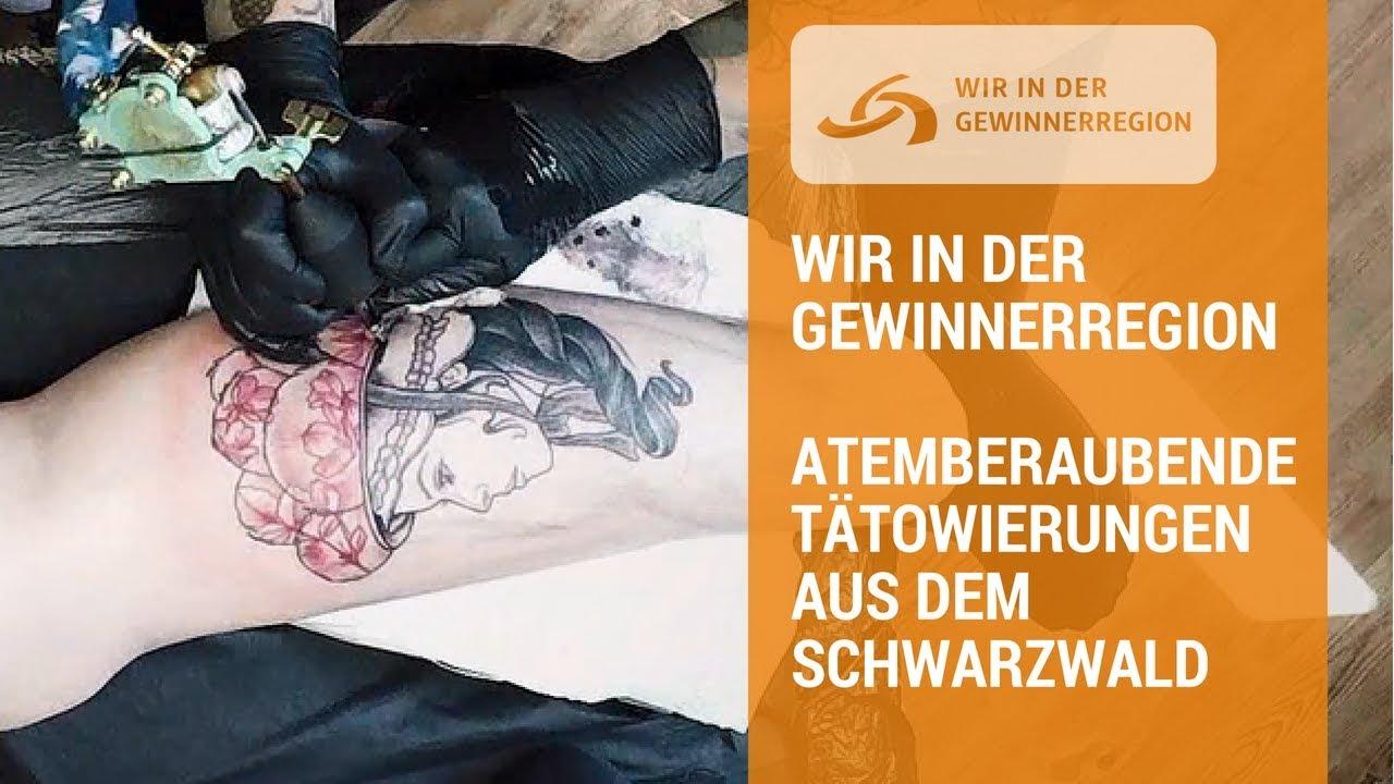 Atemberaubende Tätowierungen aus dem Schwarzwald   Wir in der Gewinnerregion