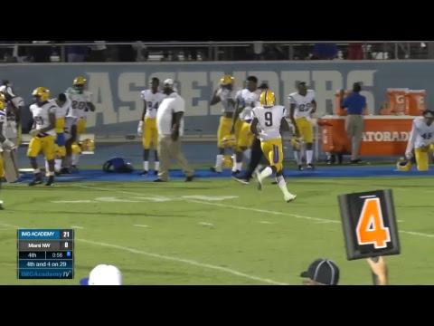 IMG Academy Football (Blue Team) vs Miami Northwestern High School