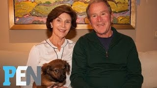 George W. Bush's New Rescue Pup Was A Set-Up (Of The Best Kind!) | PEN | People