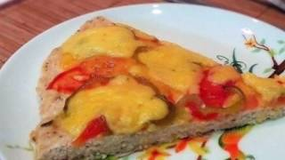 Пица без теста / правильное питание / вариант обеда Минус 60 / быстро и вкусно