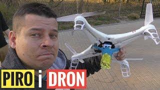 Pirotechnika i DRON!!! #1 + MEGA BONUS Klątwa TEŚCIOWEJ!