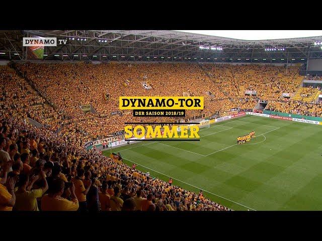 """Wählt euer """"Dynamo-Tor"""" des Sommers"""