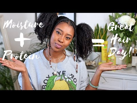 How To Get The Perfect Balance of Moisture & Protein For Natural Hair! | Curlific by Aphogee Review