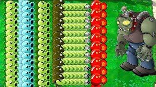 All Plants PvZ Hack vs All Zombie in Plants vs Zombies thumbnail