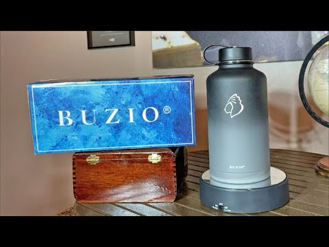 BUZIO Insulted Water Bottle with Straw Lid and Flex Cap Review, Buzio Discount Code