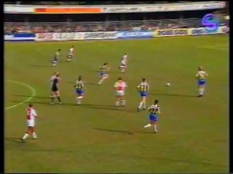 RKC Waalwijk - Ajax 0-5  Eredivisie 1992-1993