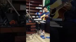 Cai Hong (Cầu Vồng - Châu Kiệt Luân) Guitar