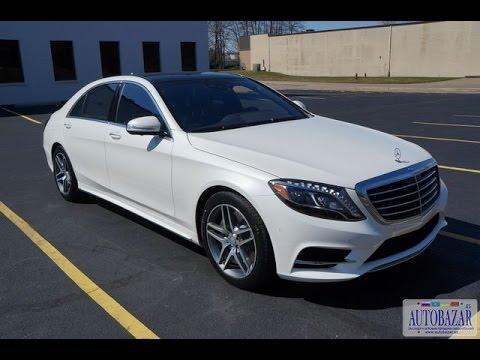 2014 Mercedes-Benz S550 W222 видео обзор. Тест драйв 2014 Мерседес S550. Авто из США.