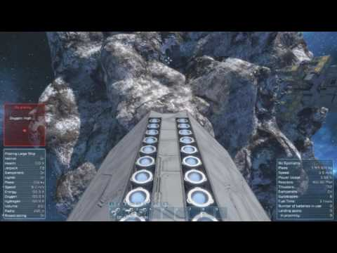 Space engineers  Rotating drill ship Mark 2