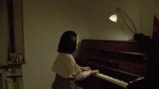 服部亜里沙による「バラード」(ブルグミューラー)の演奏.