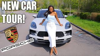 NEW CAR TOUR! FINALLY GETTING MY DREAM PORSCHE MACAN!