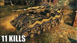 Классный бой на арте M40/M43 🌟 11 фрагов 🌟 карта: Редшир World of Tanks