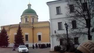 Свято-Данилов монастырь - колокольный звон в  день памяти кн. Даниила