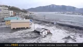 Japan earthquake & Tsunami 2011 - Shocking video (18000 people were killed)