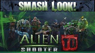 Smash Look! - Alien Shooter TD Gameplay