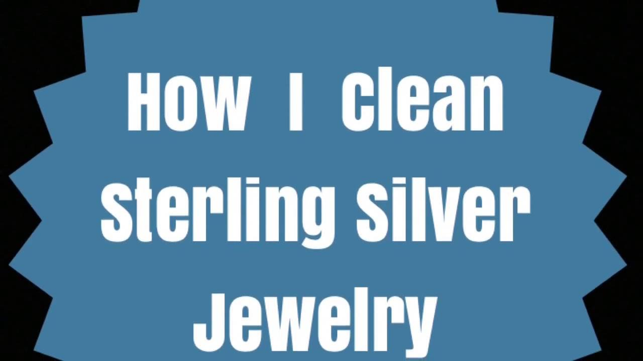 How i clean sterling silver jewelry youtube for How do i clean sterling silver jewelry