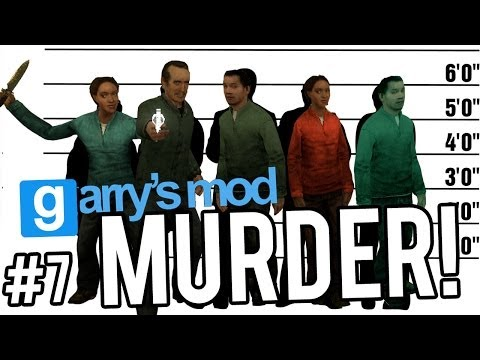THE OBVIOUS SUSPECT | MURDER - GARRY'S MOD | With Friends
