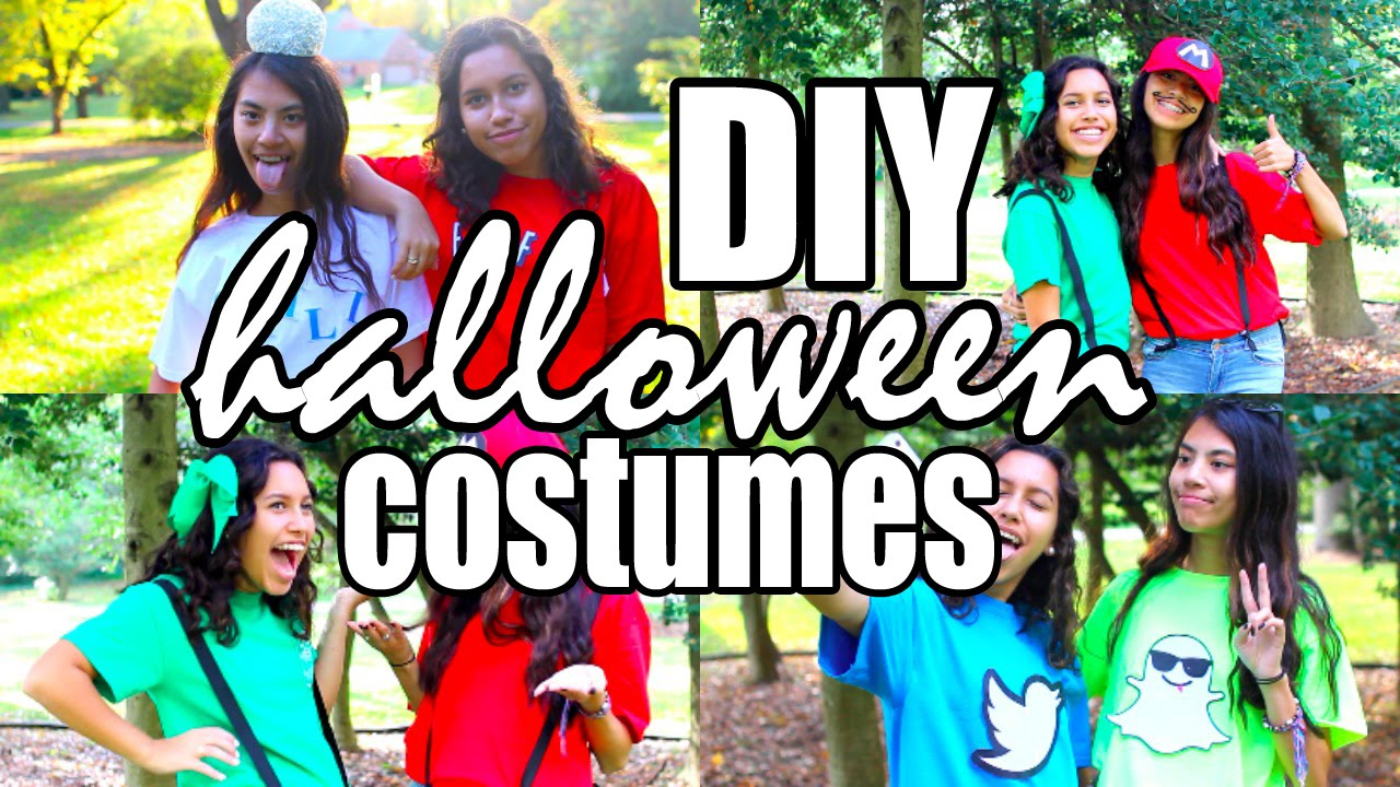 sc 1 st  YouTube & DIY Partner Halloween Costumes to Wear With Your Best Friends! - YouTube