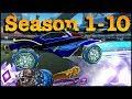 All Season Rewards in Rocket League! (Season 1-10)