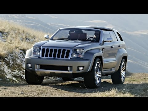 2007 Jeep Trailhawk Concept Review Outside & Inside