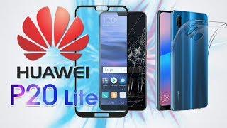 Huawei P20 Lite 3 Protectors In 1 Phone (Tempered glass, Dual Camera glass & Back Transparent Case)