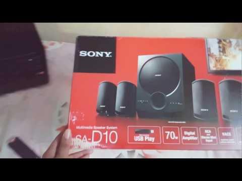 SONY SA-D10    LIVE    NUCLEYA    BASS   TEST: SONY SA-D10 Multimedia Speaker's