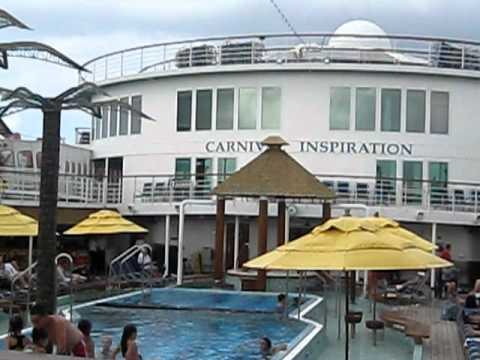 Carnival Inspiration Lido deck - YouTube on Deck Inspiration  id=33563