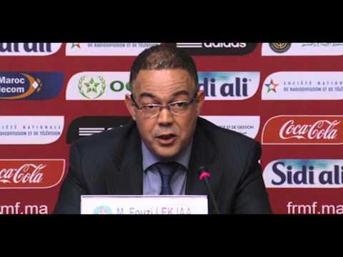 Conférence de presse de présentation d'Hervé Renard - Rabat - 16 février 2016