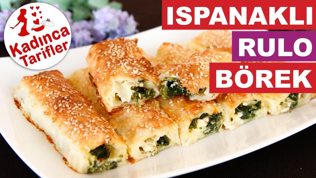 Ispanaklı Milföy Börek Tarifi