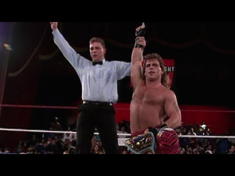Shawn Michaels vs. Max Moon  - Intercontinental Championship Match: Raw, January 11, 1993