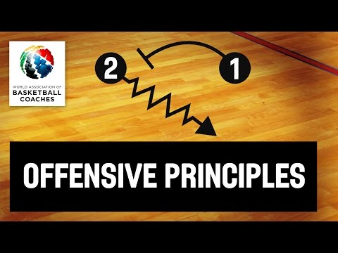 Basketball Coach Patrick Hunt - Offensive Principles Of Play