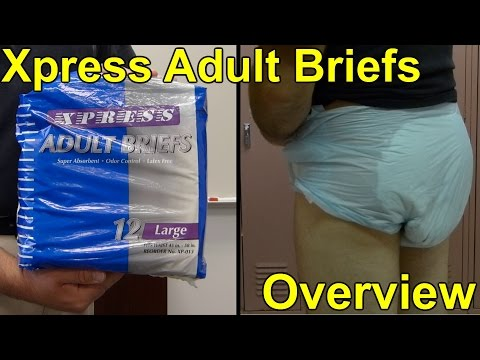 Xpress Adult Diapers/briefs overview