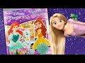 Disney princess activity book coloring for kids