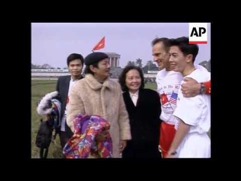 Vietnam - US Vet On Peace & Friendship Run