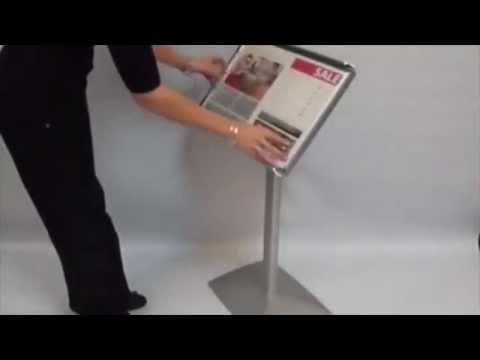 Sign Holder - Adjustment