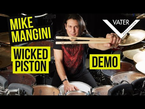 Vater Drumsticks - Mike Mangini Wicked Piston Specs, Demo, Explanation