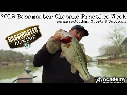 2019 Bassmaster Classic EPIC Practice week FISHING FILM