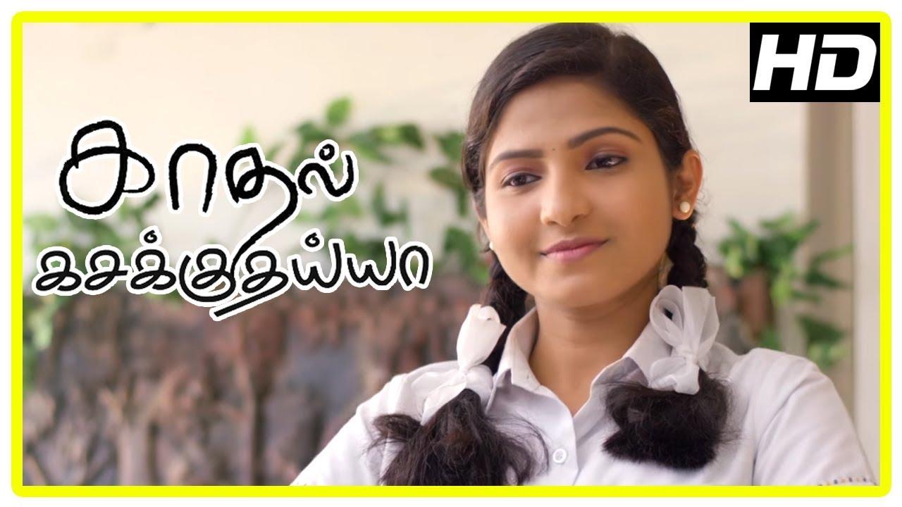 Kadhal Kasakuthaiya Movie Scenes | Title Credits | Venba and her friend intro | Charlie