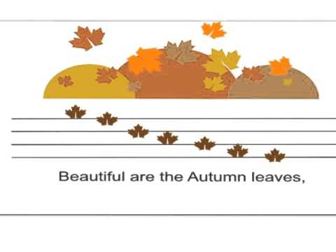 Autumn Leaves are Falling