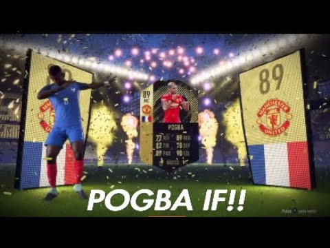 POGBA IF IN A PACK!! FIFA 18