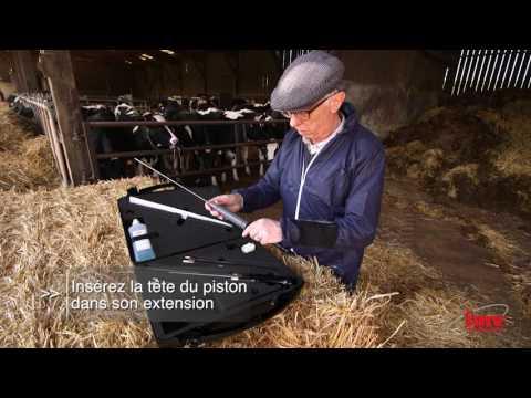 Solution innovante d'insémination bovine - IMV Alphavision VFR (version complète)