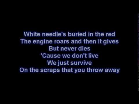 Rise Against- Re-Education (Through Labor) Lyrics (HD)